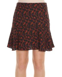 A.L.C. - Multicolor Parks Printed Skirt - Lyst
