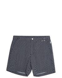 Danward | Black Printed Swim Shorts for Men | Lyst
