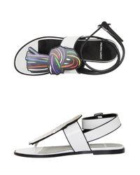 Pierre Hardy - White Scoubi Pop Sandals - Lyst