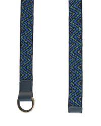 Missoni - Blue Knit Belt - Lyst