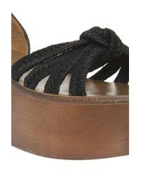 Étoile Isabel Marant - Black Zia Wedge Sandals - Lyst