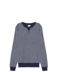 Sunspel - Gray Reverse Loopback Sweatshirt - Lyst