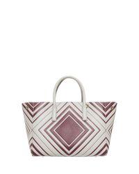 Anya Hindmarch - White Small Ebury Bag - Lyst