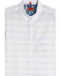 Missoni - White Printed Shirt for Men - Lyst