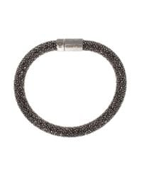 Carolina Bucci | Black Twister Bracelet | Lyst