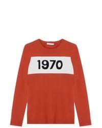 Bella Freud - Red 1970 Sweater - Lyst