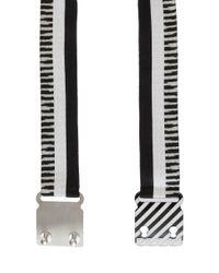 Missoni - Black Striped Belt - Lyst