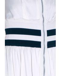Alexander Wang - White Sporty Dress - Lyst