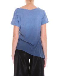 LNA - Blue Ombre T-shirt - Lyst