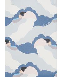 Paul & Joe - Blue Printed Tote Bag - Lyst