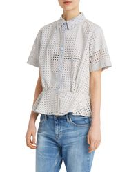 Paul & Joe - Blue Pervenche Shirt - Lyst