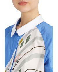 Paul & Joe - Blue Swimmer Shirt - Lyst