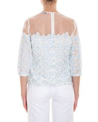Paul & Joe - Blue Lace Top - Lyst