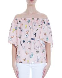 Paul & Joe - Pink Looney Tunes Blouse - Lyst