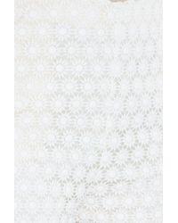 Paul & Joe - White Lace Shorts - Lyst