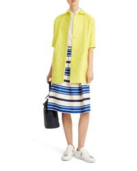 Paul & Joe - Yellow Barbade Coat - Lyst