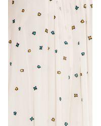 Paul & Joe - White Embroidered Dress - Lyst