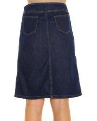 Paul & Joe - Blue Denim Skirt - Lyst
