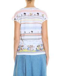 Paul & Joe - Multicolor Palm Print T-shirt - Lyst
