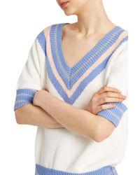 Paul & Joe - White Adare Sweater - Lyst