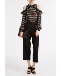 Preen By Thornton Bregazzi - Black Terry Trousers - Lyst