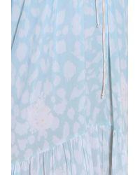 Athena Procopiou - Natural Leopard Maxi Dress - Lyst