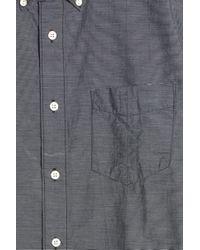 Rag & Bone - Blue Oxford Shirt for Men - Lyst