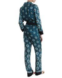For Restless Sleepers Blue Nefele Jumpsuit