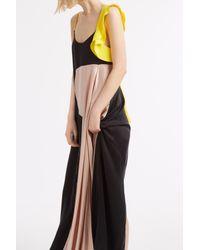 ROKSANDA - Black Freya Frill Dress - Lyst
