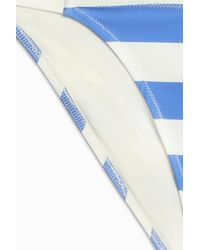 Solid & Striped - Blue Morgan Bikini Bottom - Lyst