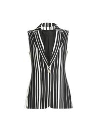 Elie Saab - Multicolor Striped Gilet - Lyst