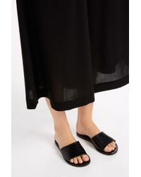 Helmut Lang - Black Summer Wool Culottes - Lyst
