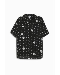 Splendid - Black Cotton Shirt - Lyst