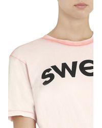 Wildfox - Pink Sweet T-shirt - Lyst