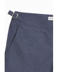 Orlebar Brown - Blue Bulldog Chambray Shorts - Lyst