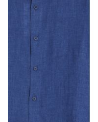 Orlebar Brown - Blue Morton Tailored Shirt for Men - Lyst