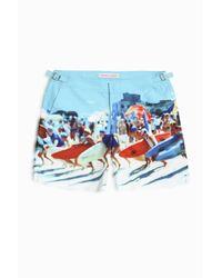Orlebar Brown - Blue Bulldog Hulton Getty Shorts - Lyst