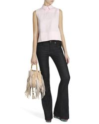Victoria, Victoria Beckham - Blue Flared Jeans - Lyst