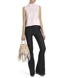 Victoria, Victoria Beckham - Pink Tie Back Shirt - Lyst