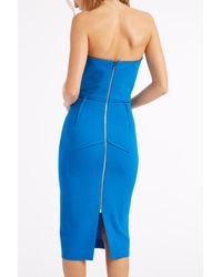 Roland Mouret - Blue Electra Crepe Dress - Lyst