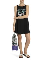 Wildfox - Black Vacation Forever Tank - Lyst