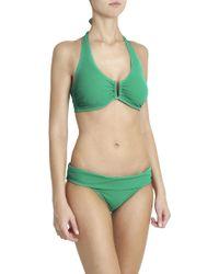Heidi Klein - Green Fold Over Bikini Bottom - Lyst