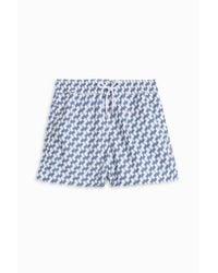 Frescobol Carioca - Blue Leme Sports Shorts for Men - Lyst