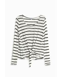 Splendid - Multicolor Stripe Tie T-shirt - Lyst