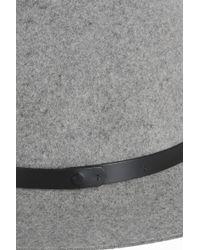 Rag & Bone - Gray Floppy Brim Fedora - Lyst
