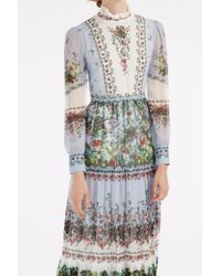 Erdem - Multicolor Kendall Flower Bouquet Gown - Lyst