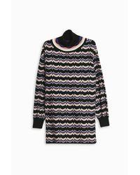 Missoni - Multicolor Striped Zigzag Tunic - Lyst