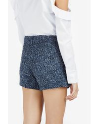 Paul & Joe - Blue Mashup Tweed Wrap Skirt - Lyst
