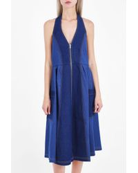 Paper London Blue Soleil Dress