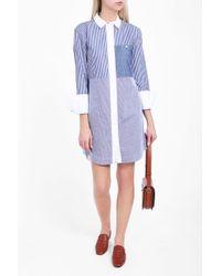 Elizabeth and James | Blue Jay Striped Dress | Lyst